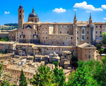Urbino panoramic view