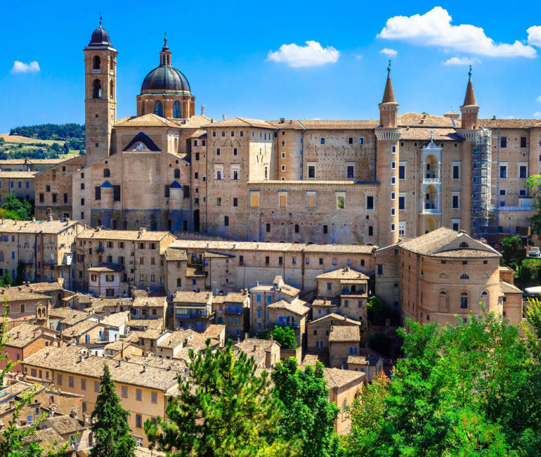 Urbino panoramic view
