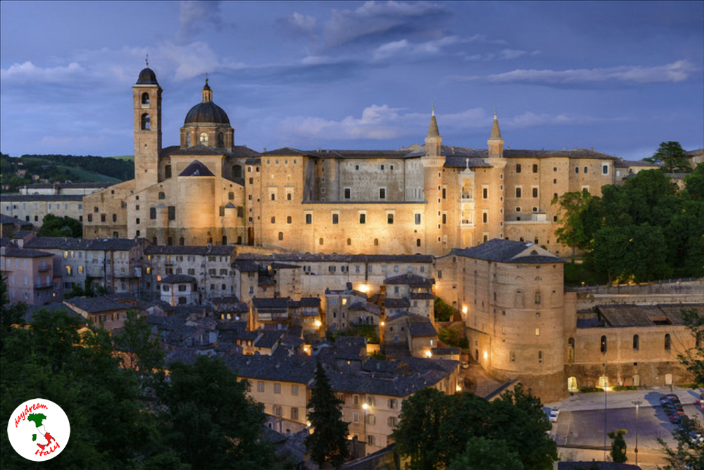 a view from urbino
