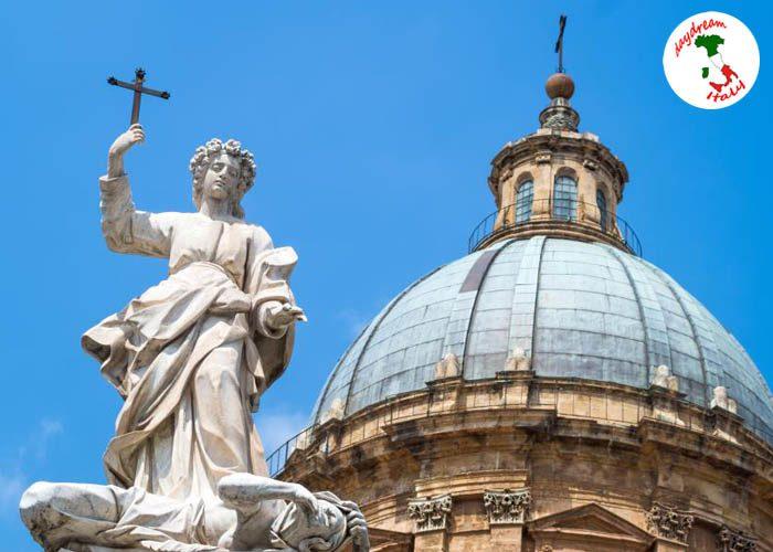 statue-of-santa-rosalia-next